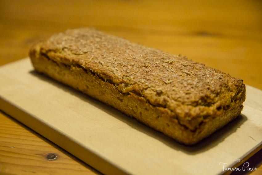Pan germinado de Kamut cocinado con mucho amor por Tamara Pinco